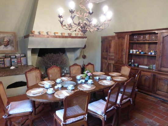 L'Abbaye Chateau De Camon: Breakfast room