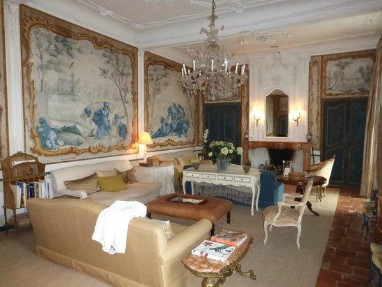 L'Abbaye Chateau De Camon: Sitting area