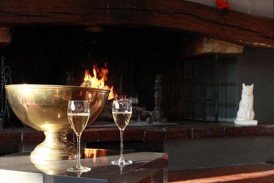 Hotel de Lorraine : cheminée