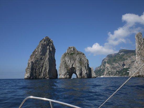 I Faraglioni: from the sea
