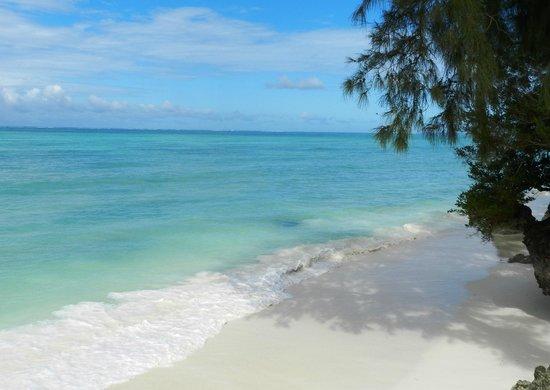 Seasons Lodge Zanzibar: Beach area