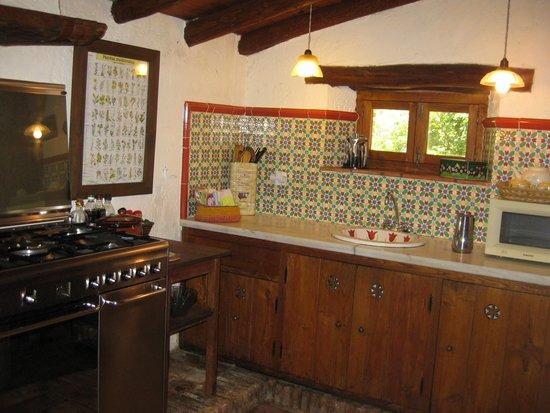 Molino Rio Alajar: de keuken