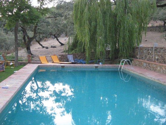 Molino Rio Alajar: het prachtige zwembad