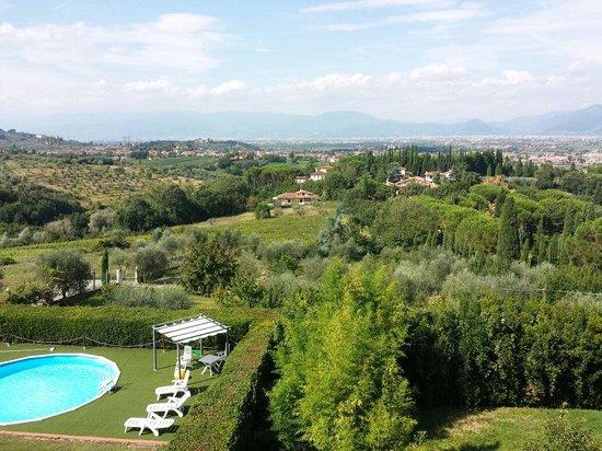 B&B Villa Le Farnete: View from our room