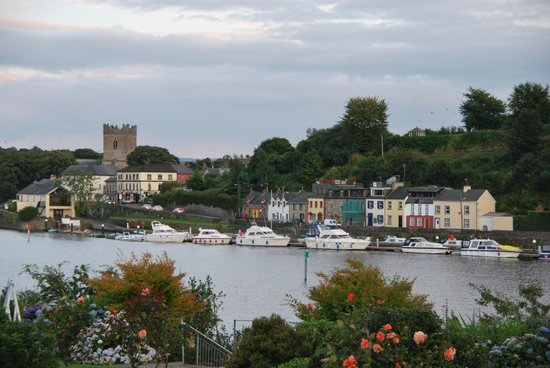 Lakeside Hotel and Leisure Centre: View from hotel garden over the Shannon