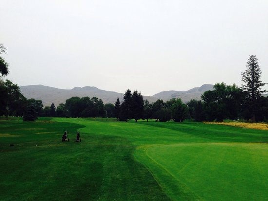 Kamloops Golf and Country Club: Golf course