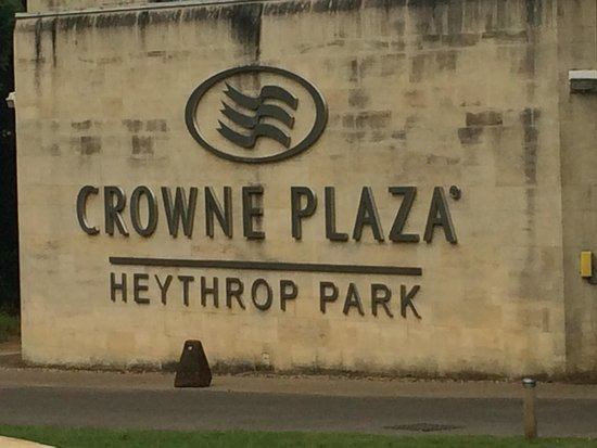 Crowne Plaza Heythrop Park - Oxford: just a nice place to be