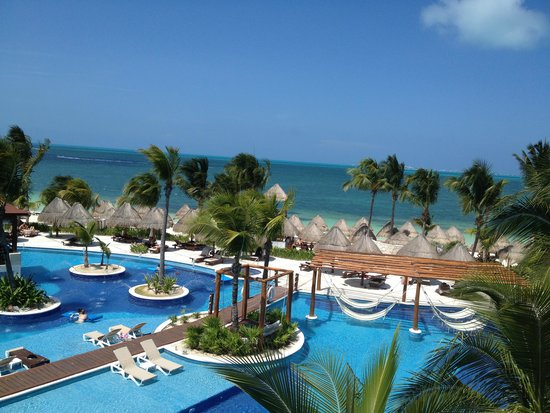 Excellence Playa Mujeres: View from our rooftop
