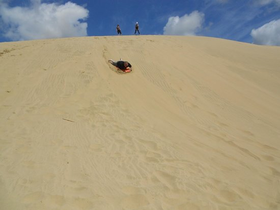 Te Paki Sand Dunes: No sand speed records here