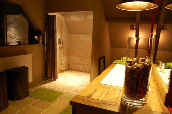 Domaine des Closeaux : Notre salle de bains