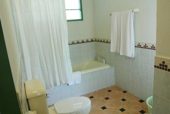 Arayaburi Boutique Resort : ห้องน้ำ เป็นแบบอ่างอาบน้ำ