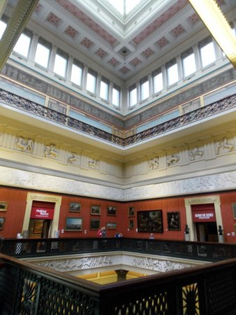 Harris Museum and Art Gallery: harris museum ceiling
