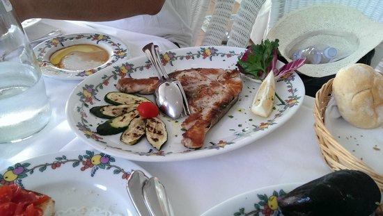 Terrazza Brunella: fish