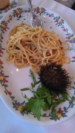 Terrazza Brunella: pasta in seawater