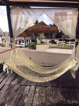 Temptation Cancun Resort.: Hammock time