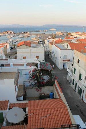 Hotel Fjby: Vue depuis le toit de l'hôtel FJBY