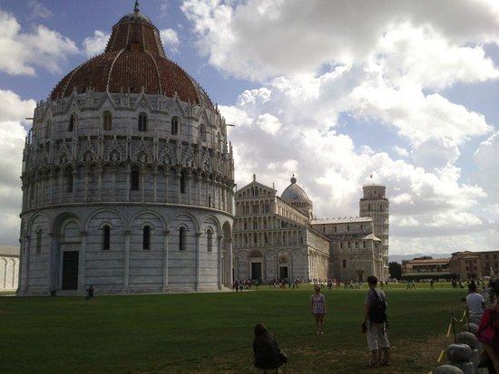 Piazza dei Miracoli : Panoramica