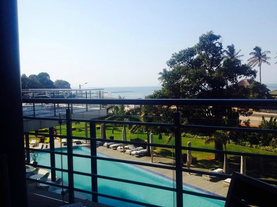 Radisson Blu Hotel & Residence, Maputo: View from restaurant