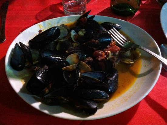 Osteria del Gusto : Soupe de fruits de mer