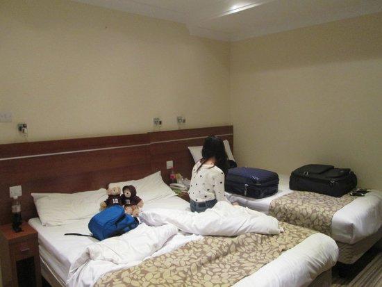 Bayswater Inn: La prima stanza che ci hanno assegnato