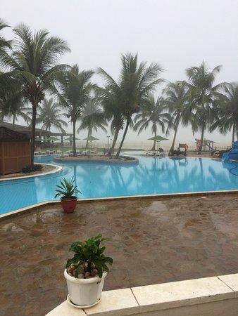 Hilton Salalah: Pool area