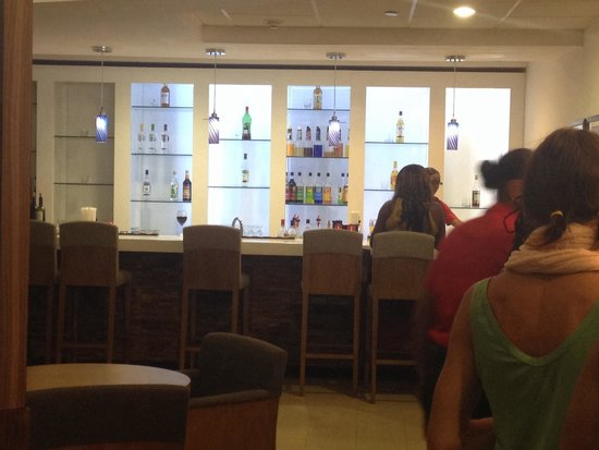 Club Mobay Departure Lounge: The Bar area