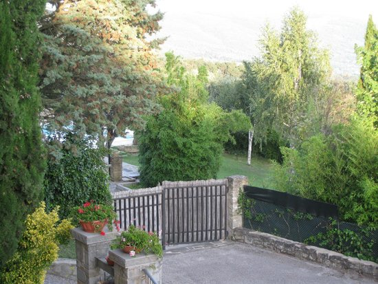 Villa Sensi: A view from the balcony