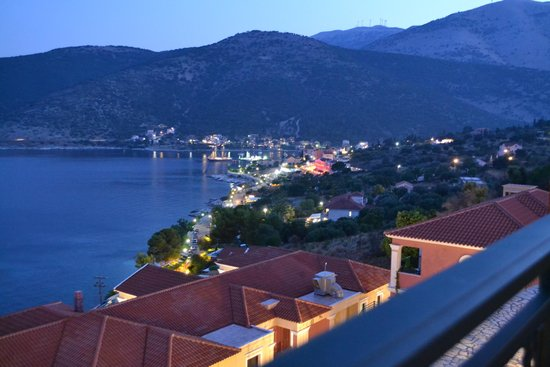 Kefalonia Bay Palace : Looking towards Agia Efimia from our room