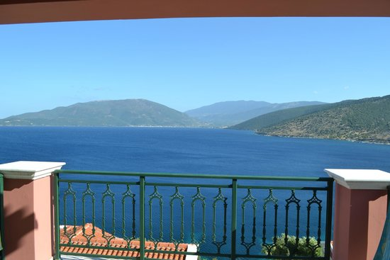 Kefalonia Bay Palace : View from our balcony