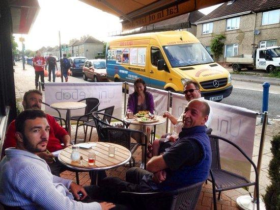 Uni Kebab: new Outside area