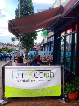 Uni Kebab : New outside area