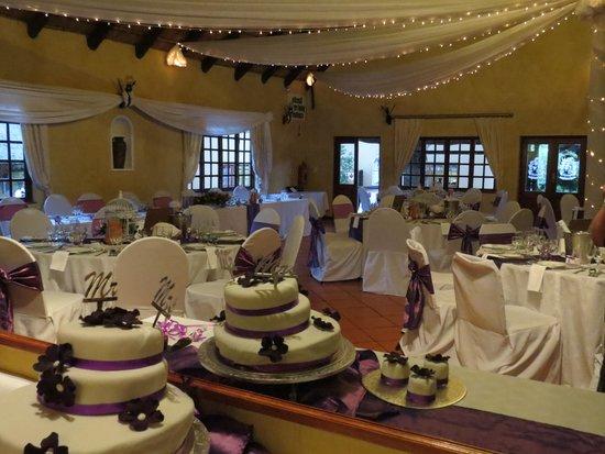 Valverde Country Hotel: Wedding reception