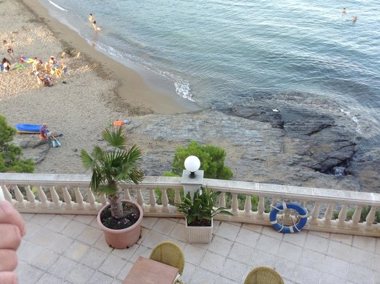 Hotel Grifeu : From the hotel balcony