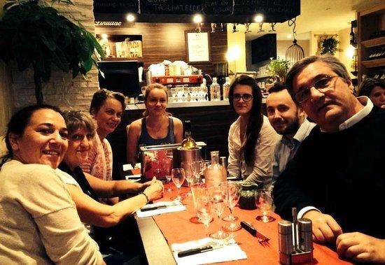 Domaine de Lintillac : Repas de famille à 7 personnes