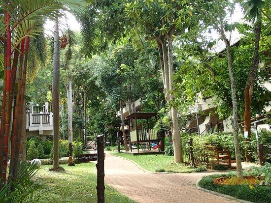 Pakasai Resort: Along the way to the lobby