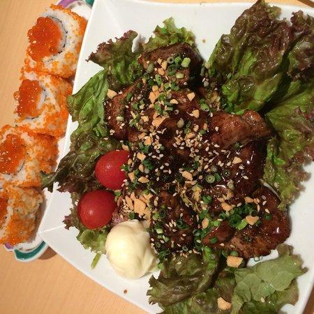 Umegaoka Sushi No Midori Sohonten Shibuya: Tasty fish dish and sushi