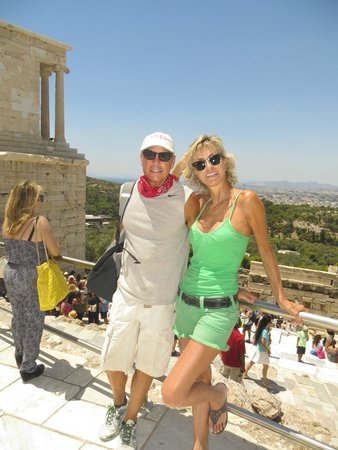 Boutique @ 10 : Jennifer and David Beach in Athens, Greece 2014.
