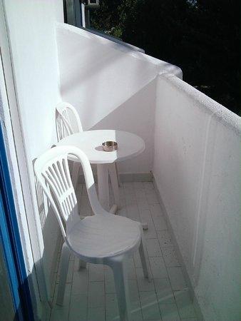Nathalie Hotel : Le balcon