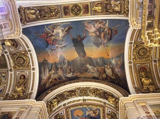 St. Isaac's Cathedral State Museum-Memorial: Ceiling