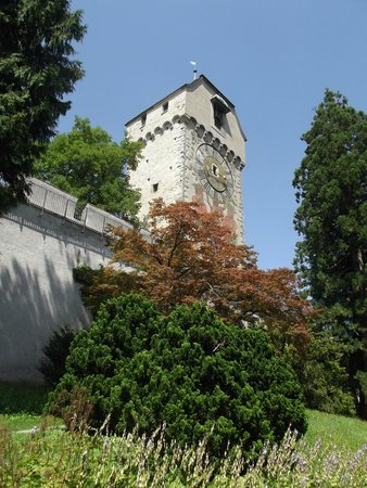 Museggmauer: A tower in the town wall