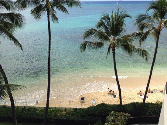 Halekulani Hotel: Ocean view room
