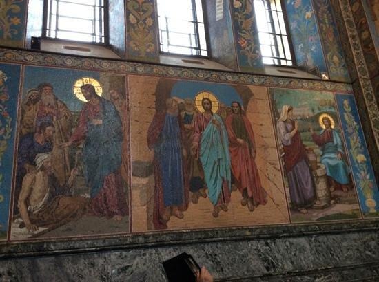 Cathédrale Saint-Sauveur-sur-le-Sang-Versé de Saint-Pétersbourg : Mosaic of Miracles