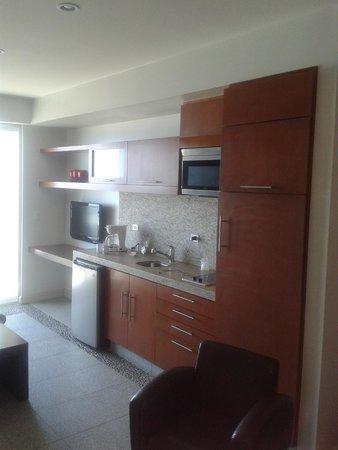 Rosarito Beach Hotel: Cocina de habitacion