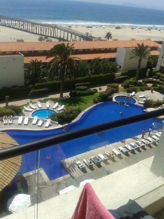 Rosarito Beach Hotel: vista desde la habitación.