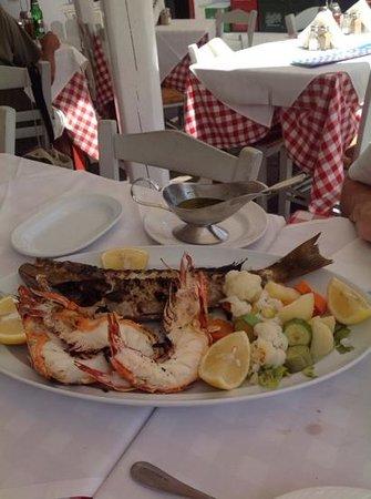 Niko's Taverna : la grigliata...