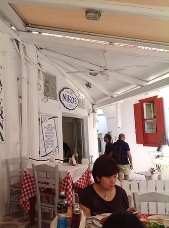 Niko's Taverna : terrazzo