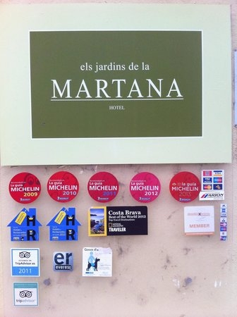 Els Jardins de la Martana: esterno