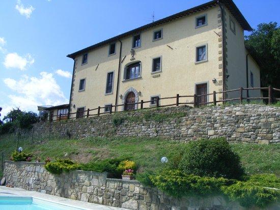 Agriturismo Borgo Tramonte : vista dalla piscina