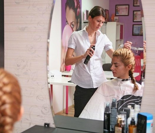 Navarria Hotel: Hairdressing Salon