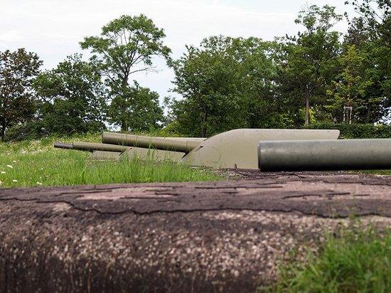 Fort de Mutzig : Batterie